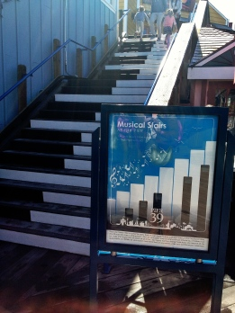 Musical Stairs