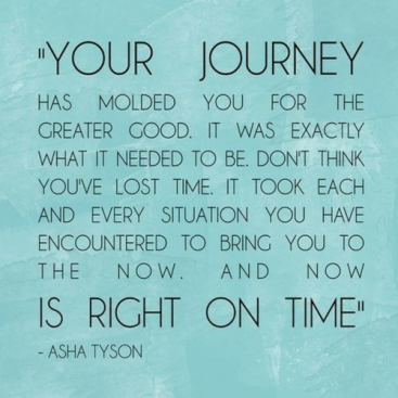Your Journey quote